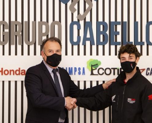 Servihonda Málaga ofrece una oportunidad a Carlos Alegre para desarrollar sus conocimientos