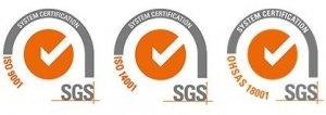 Certificados de calidad SERVILIMPSA